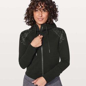 Lululemon Embroidered To You Black Hoodie Jacket 6